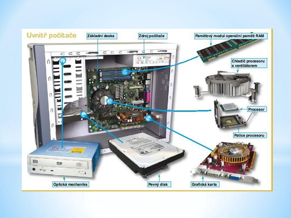 - Externí pevný disk, digitální fotoaparát, digitální kamera, tiskárna, skener, soustava reproduktorů, mikrofon, USB disk, sluchátka