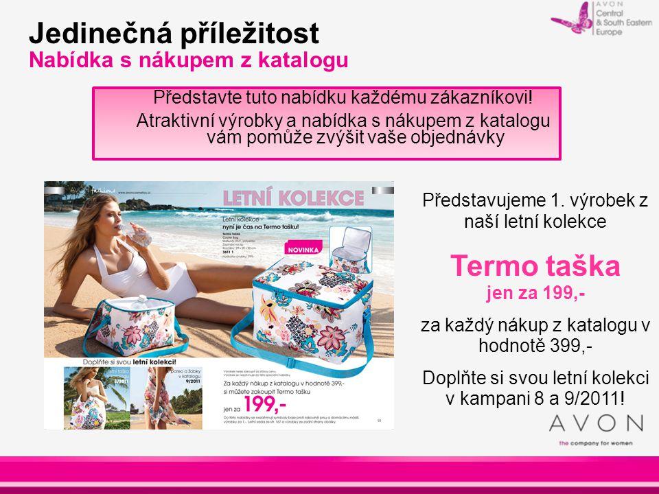 Jedinečná příležitost Nabídka s nákupem z katalogu Představte tuto nabídku každému zákazníkovi! Atraktivní výrobky a nabídka s nákupem z katalogu vám