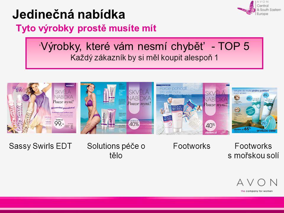 Jedinečná nabídka Tyto výrobky prostě musíte mít ' Výrobky, které vám nesmí chybět' - TOP 5 Každý zákazník by si měl koupit alespoň 1 Sassy Swirls EDT