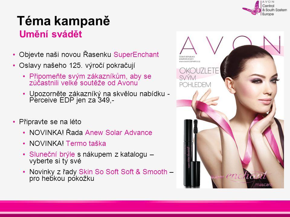 Hlavní nabídky : Řasenka SuperEnchant a Sada nejoblíbenějších výrobků Řada Anew Solar