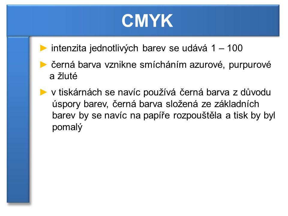 Zvětšená ukázka tisku inkoustové tiskárny. CMYK [1]