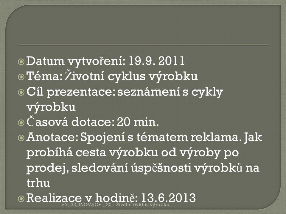  Datum vytvo ř ení: 19.9.