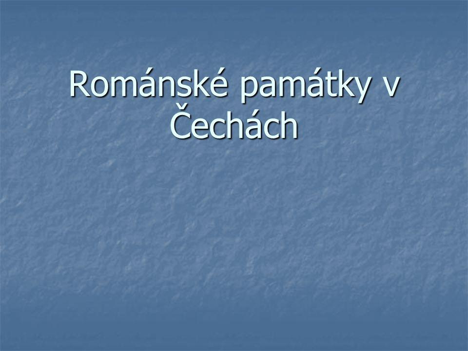 Románské památky v Čechách