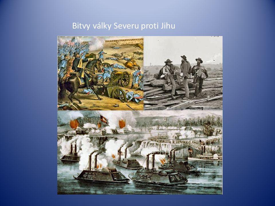 Bitvy války Severu proti Jihu