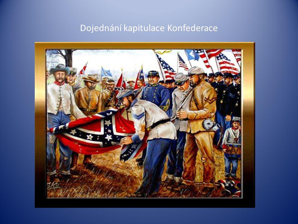 Dojednání kapitulace Konfederace