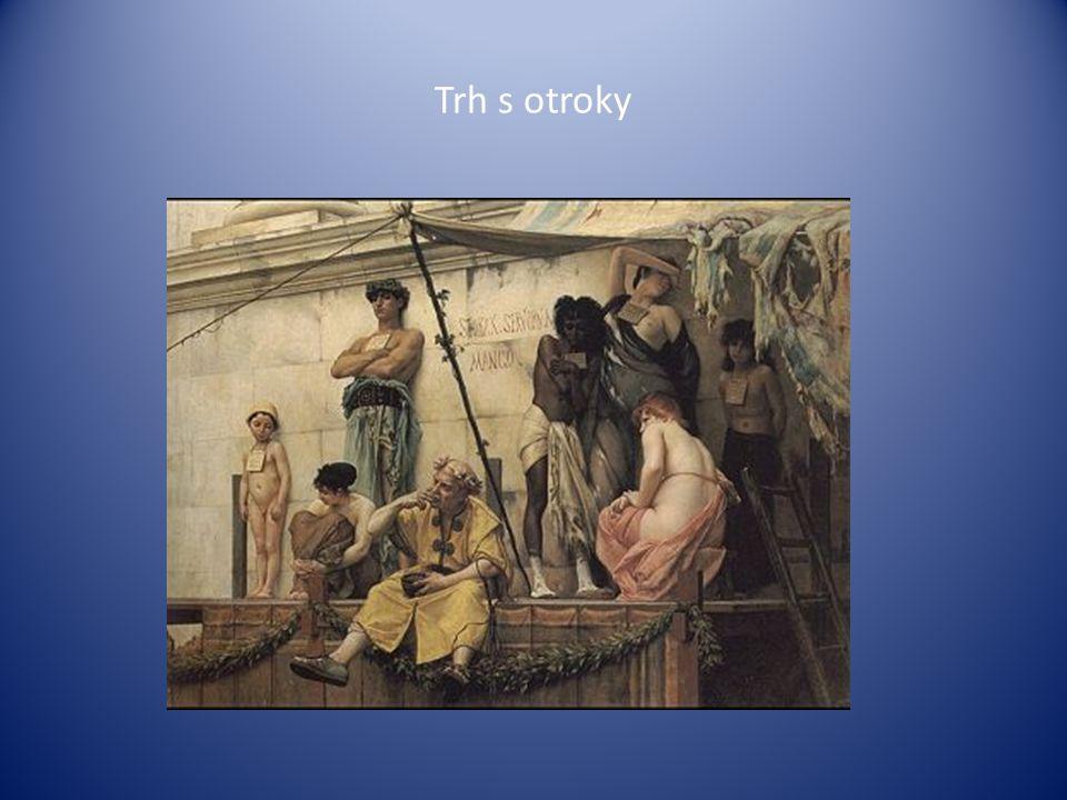 Schéma lodi převážející otroky