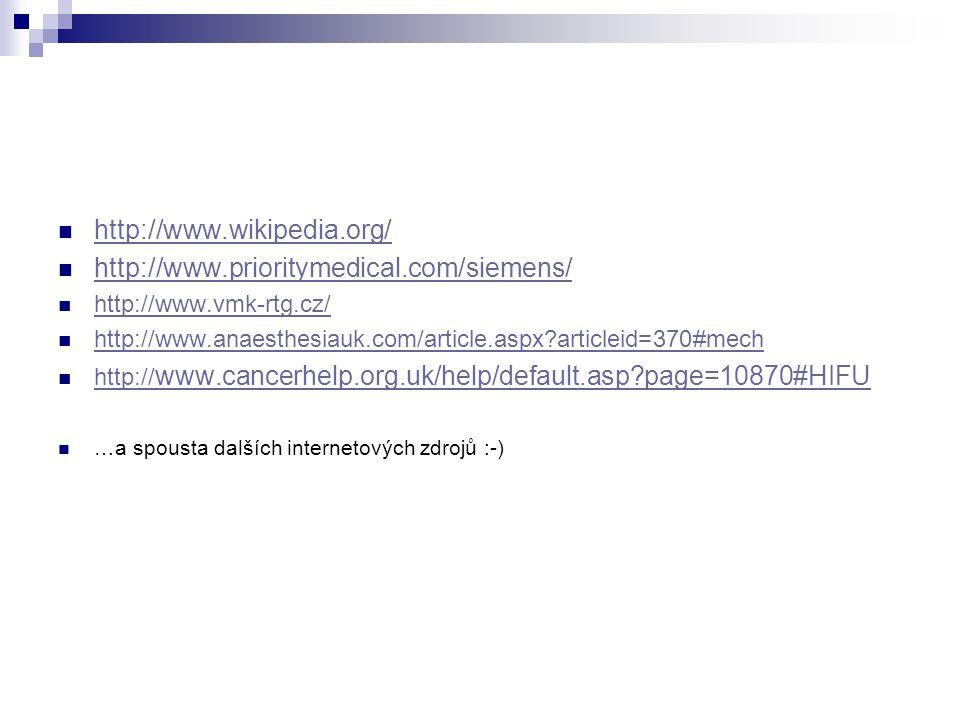 http://www.wikipedia.org/ http://www.prioritymedical.com/siemens/ http://www.vmk-rtg.cz/ http://www.anaesthesiauk.com/article.aspx?articleid=370#mech