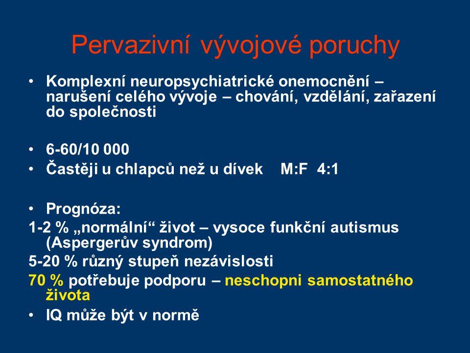 Těžká mentální retardace Q 20-34 Těžká oligofrenie Poruchy motoriky – organické postižení CNS Nevzdělavatelné, vychovatelné – zákl.