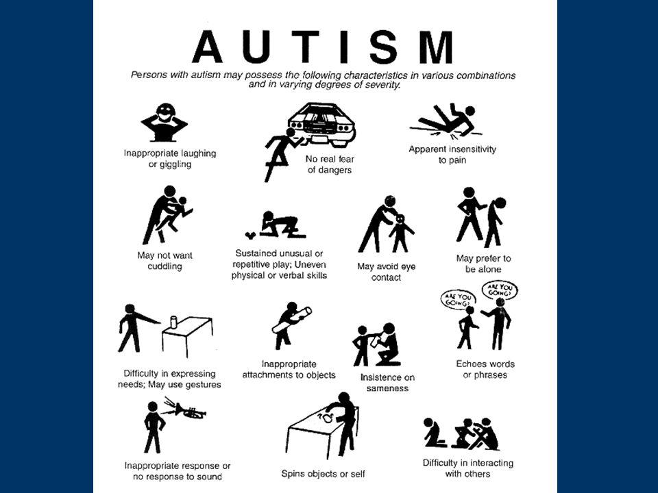 MR - komorbidita Epilepsie Poruchy chování – agresivita, hyperaktivita, impulzivita, sebepoškozování Stereotypní pohyby, pika, ruminace, excesivní masturbace Schizofrenie (bizarnosti, pokles mentálních schopností, susp.