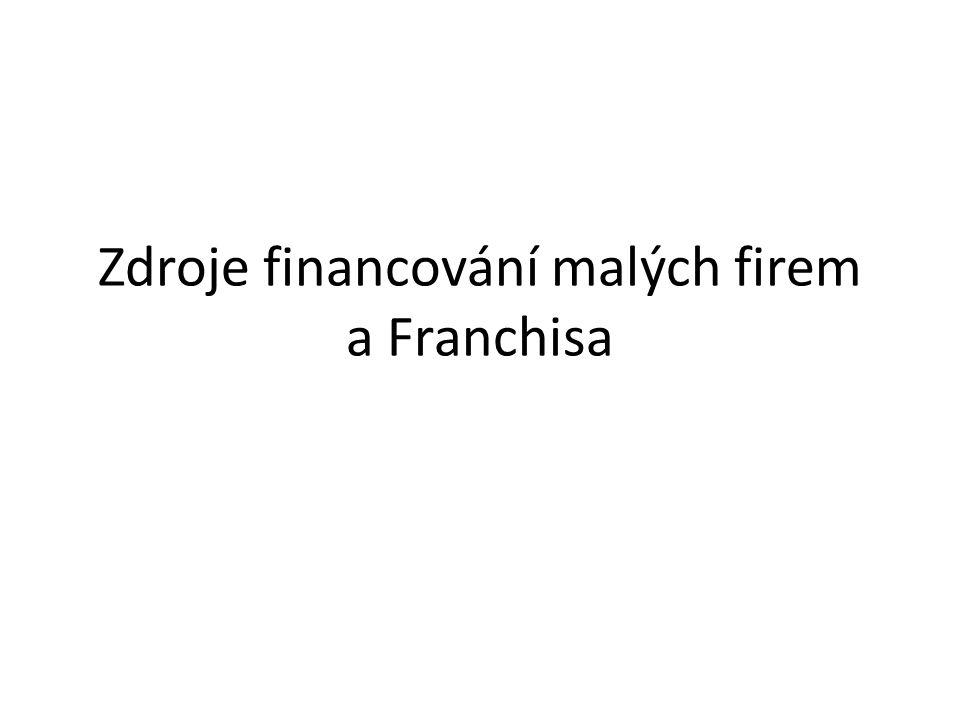 """Franchisa /franšíza/ – není zdroj financování – je to návod jak začít Osvědčený model podnikání jedné firmy může jiná za určitou peněžní odměnu """"okopírovat ."""