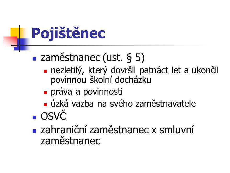 Podpůrčí doba doba poskytování nemocenského  od 15.