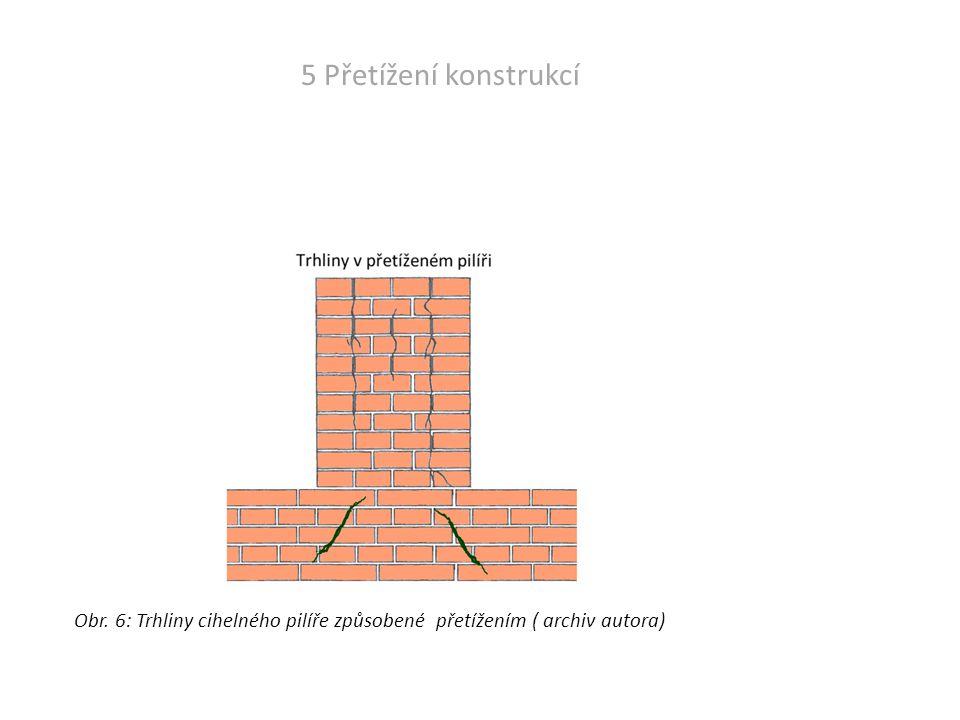 6 - Otřesy způsobené dopravou nebo stroji v budově Otřesy způsobené dopravou.
