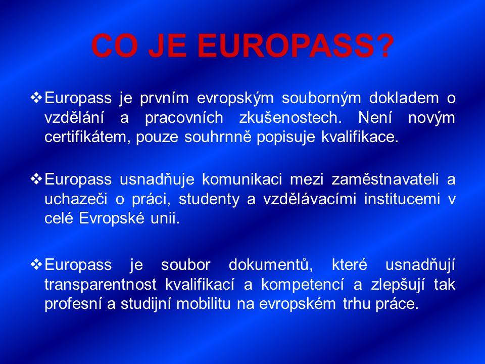 CO JE EUROPASS.