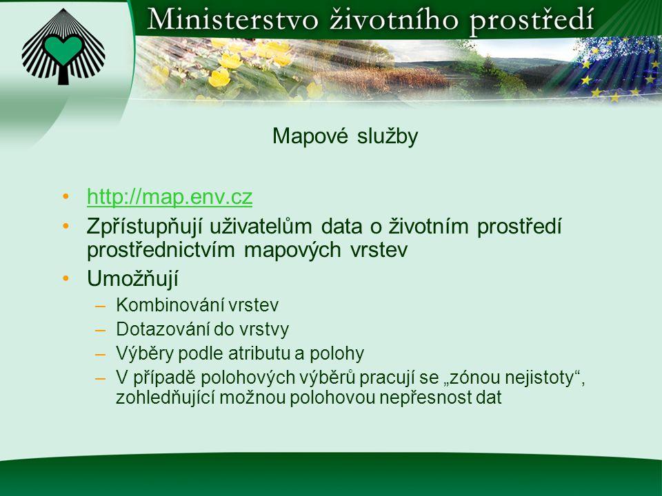 Indikátory (ukazatele) životního prostředí http://indikatory.env.cz Indikátory poskytují měřítko, kterým se dají posuzovat a kvantitativně hodnotit např.