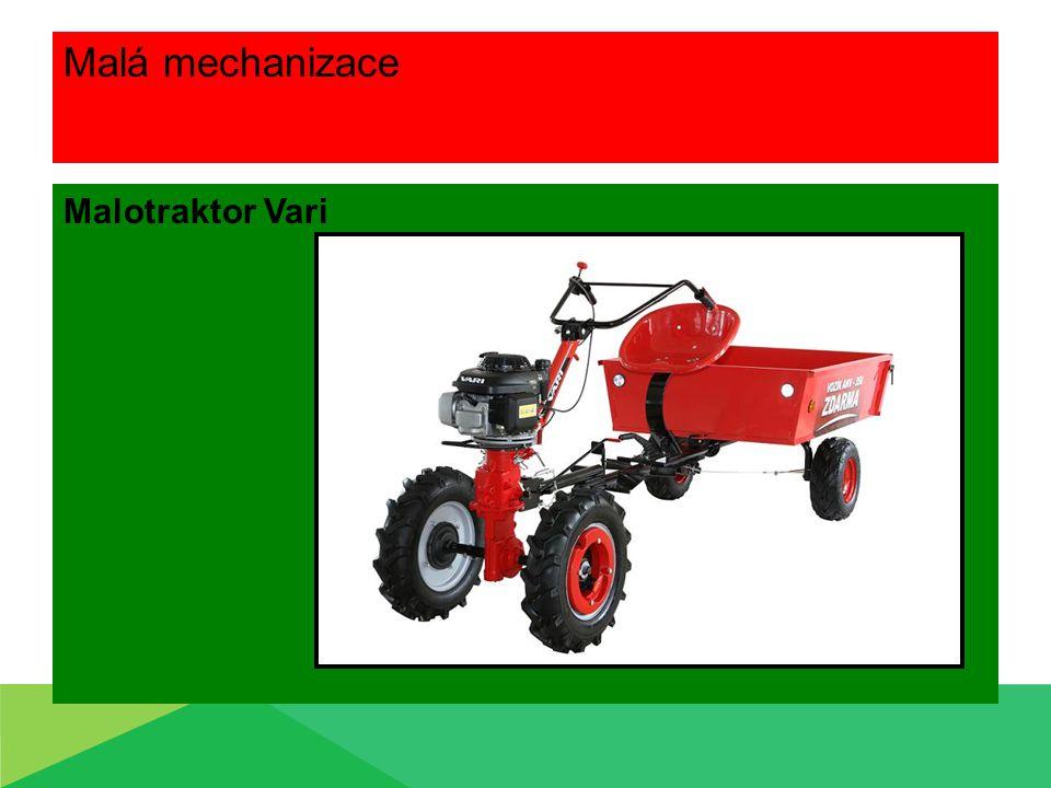 Malá mechanizace Malotraktor Vari