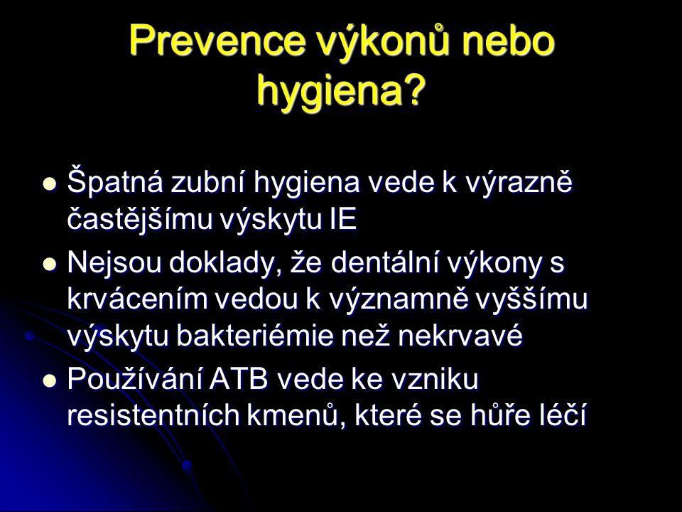 Prevence výkonů nebo hygiena? Špatná zubní hygiena vede k výrazně častějšímu výskytu IE Špatná zubní hygiena vede k výrazně častějšímu výskytu IE Nejs