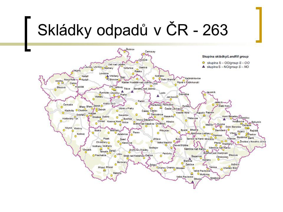 Skládky odpadů v ČR - 263