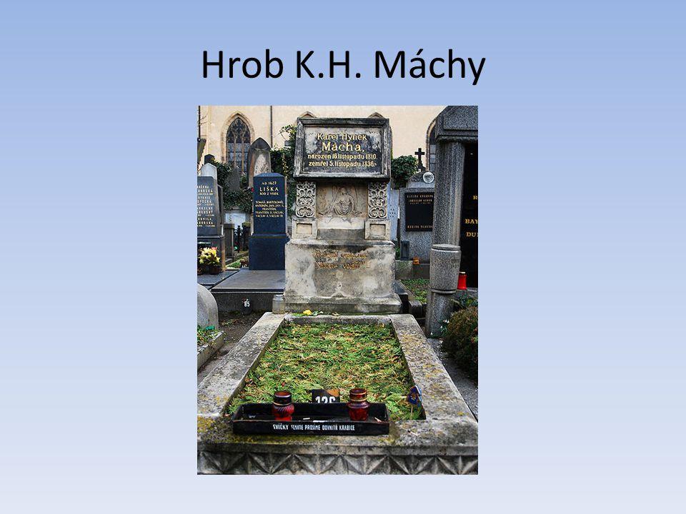 Hrob K.H. Máchy