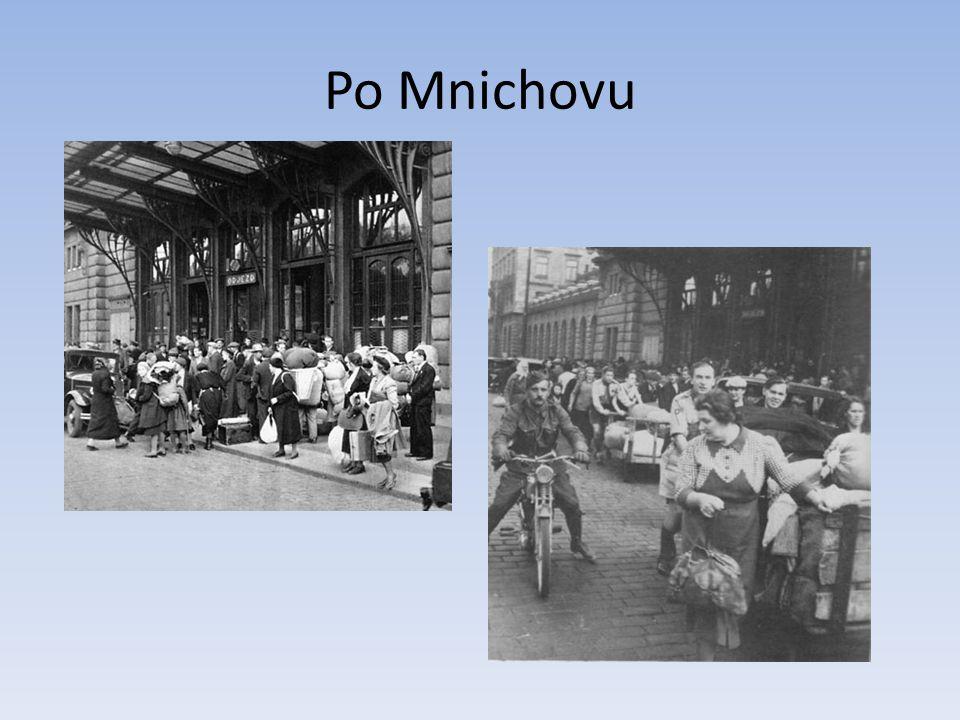 Po Mnichovu