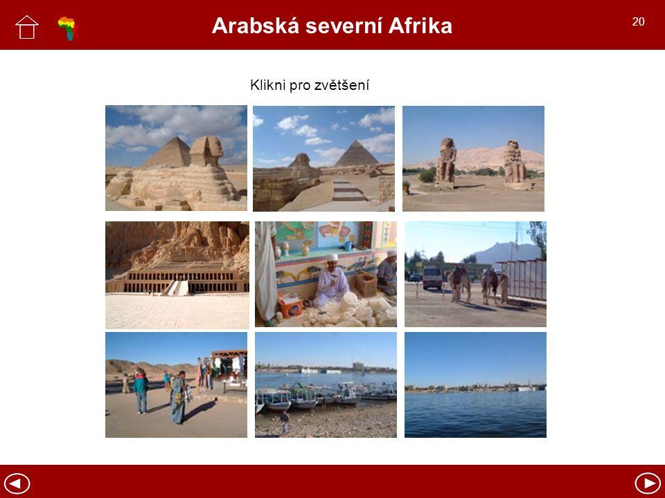 Arabská severní Afrika Klikni pro zvětšení 20