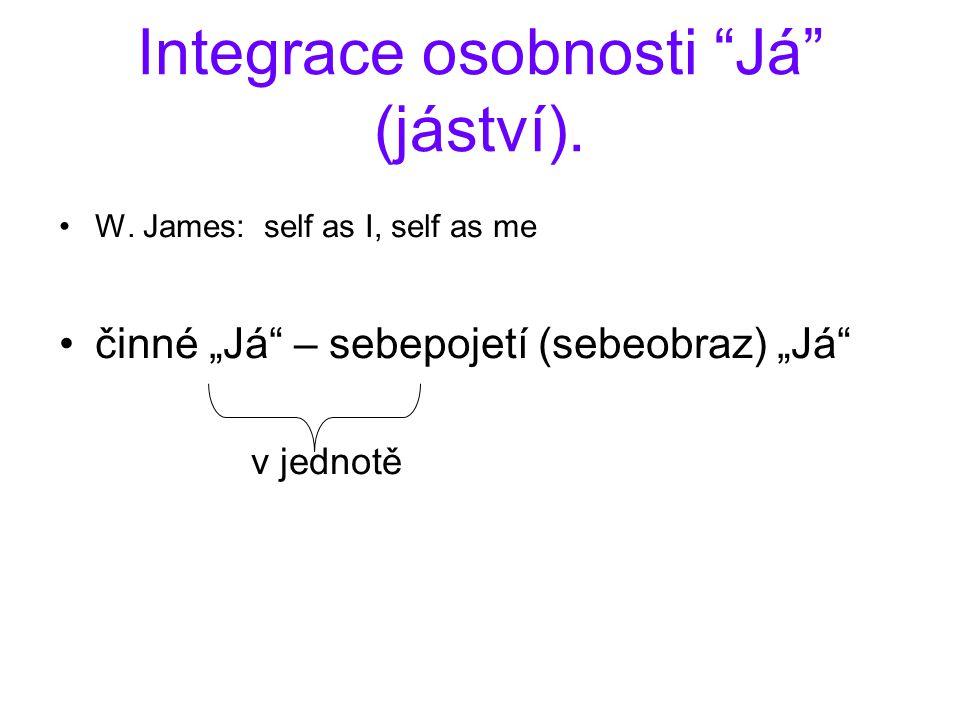 Integrace osobnosti Já (jáství). W.