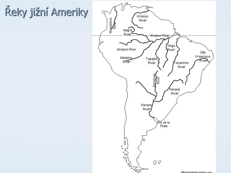 Řeky jižní Ameriky