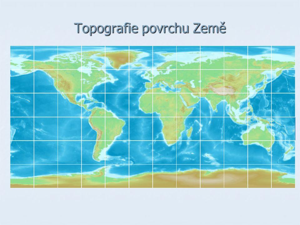 Topografie povrchu Země