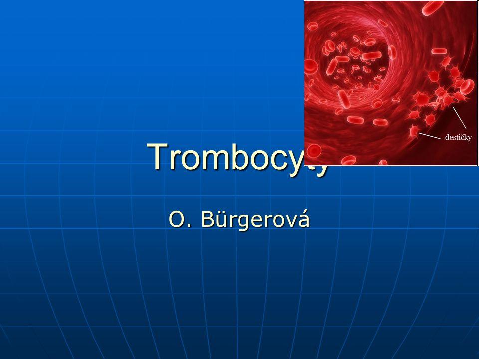 Trombocyty O. Bürgerová