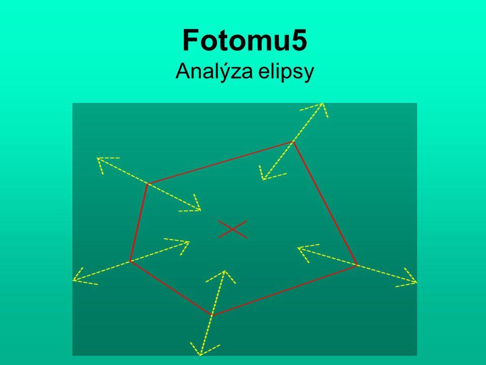 Fotomu5 Analýza elipsy