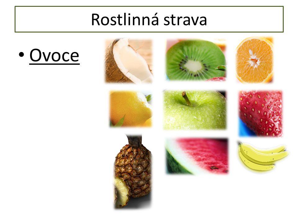 Rostlinná strava Ovoce