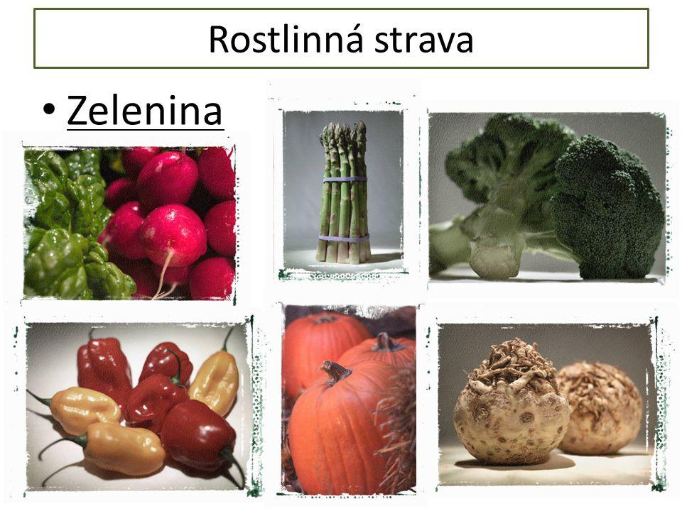Rostlinná strava Zelenina