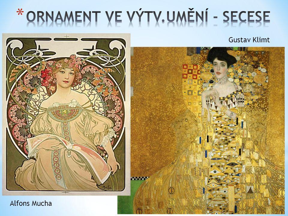 Gustav Klimt Alfons Mucha