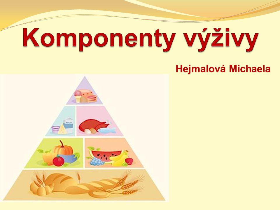 Nutrienty (živiny) 1.Makronutrienty 2. Mikronutrienty 3.