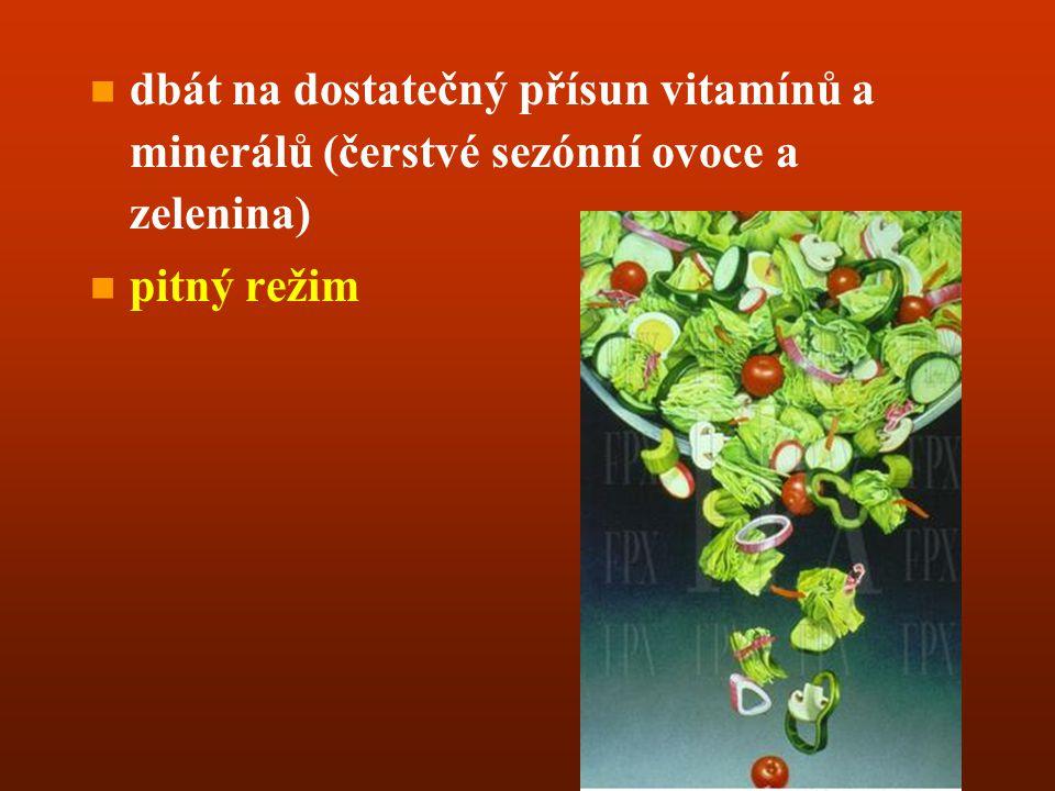 n n jíst často - dopolední a odpolední svačiny (tělo si nedokáže podržet všechny důležité součásti dostatečně dlouhou dobu) n n menší večeře - velké p