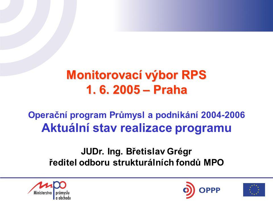 Monitorovací výbor RPS 1. 6.
