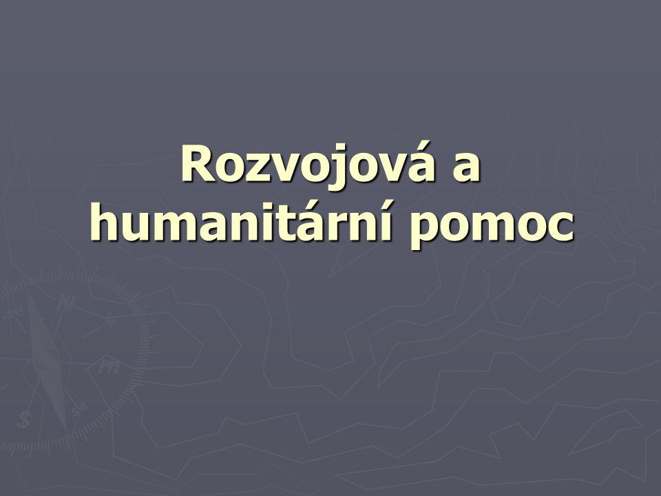 Rozvojová a humanitární pomoc