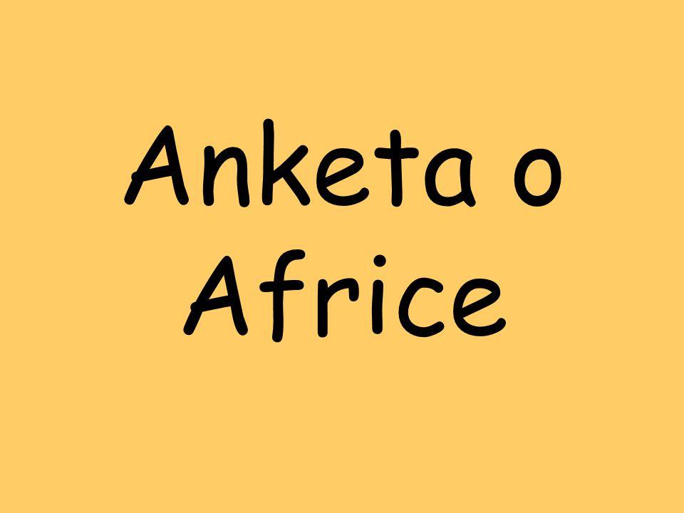 Anketa o Africe