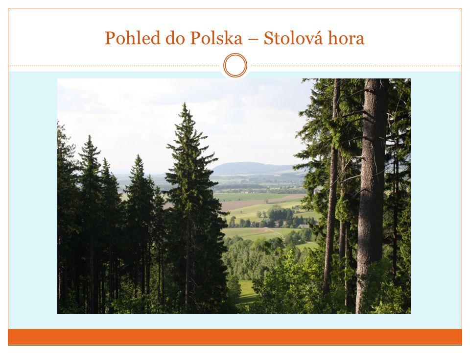 Pohled do Polska – Stolová hora