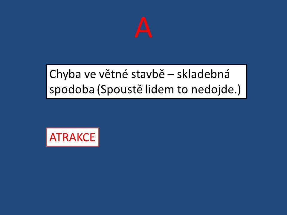 D Slovo nebo slovní spojení zveličující nepříjemnou situaci Dysfemismus (Mužíková a kol., 2007, s.