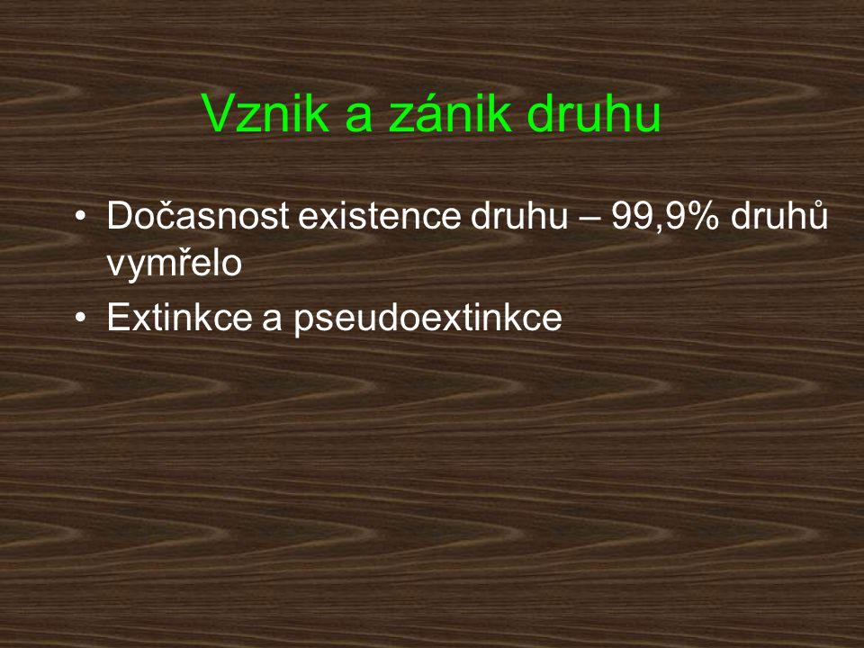 a)b)c) Extinkce a pseudoextinkce