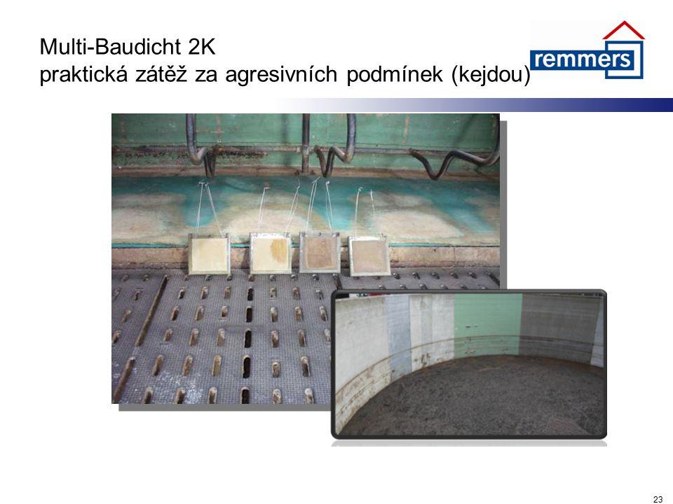 Multi-Baudicht 2K praktická zátěž za agresivních podmínek (kejdou) 23