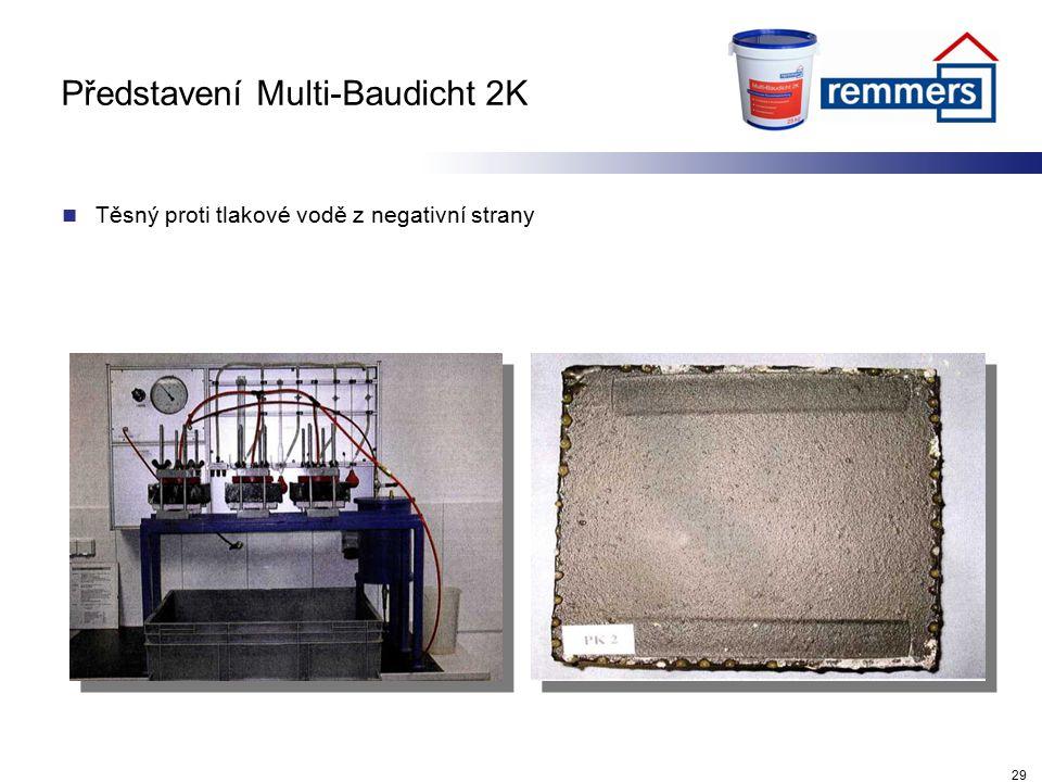Představení Multi-Baudicht 2K Těsný proti tlakové vodě z negativní strany 29