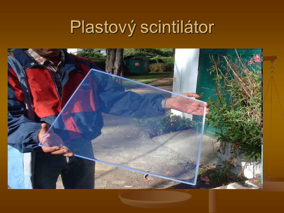 Plastový scintilátor