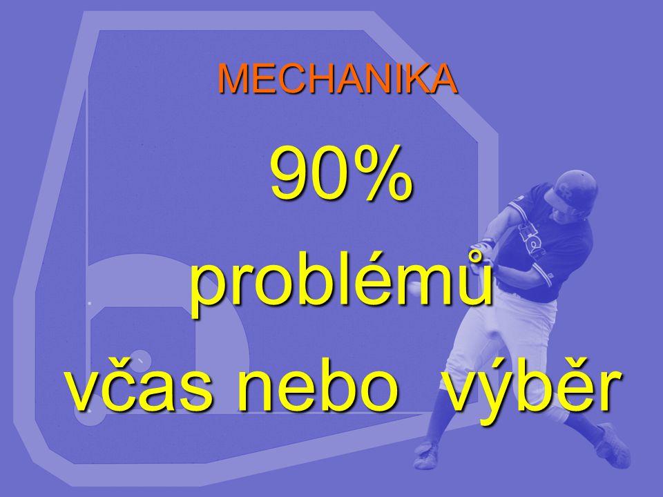 MECHANIKA 90%problémů včas nebo výběr