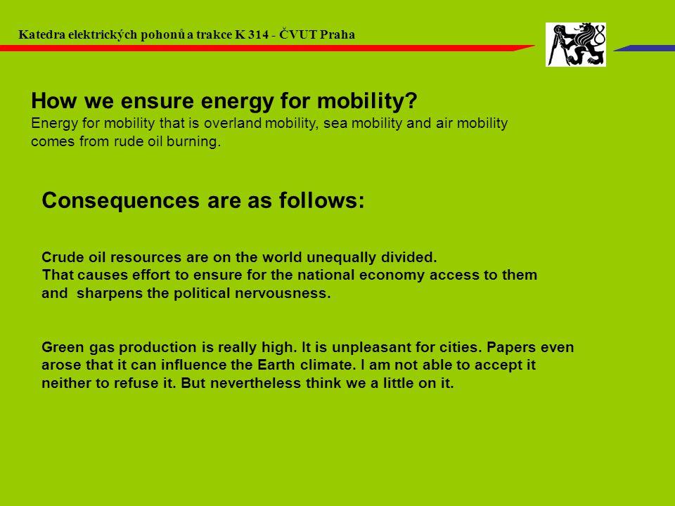 Fakulta elektrotechnická ČVUT v Praze – K 13114 ELEKTROMOBILITA Výchozí parametry: Spotřeba vozidla: 12,5 kWh/100 km (bez přídavných spotřebičů při průměrné rychlosti 25 km/h) Hmotnost vozidla (včetně řidiče): 1 100 kg Hmotnost baterie (po celou sledovanou dobu) : 200 kg Očekávané trendy v dojezdu automobilu s NiMH a Li-Ion akumulátory