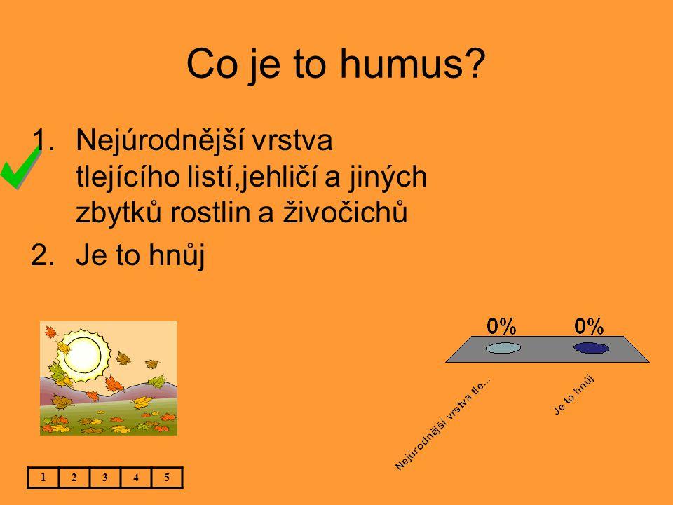 Co je to humus.