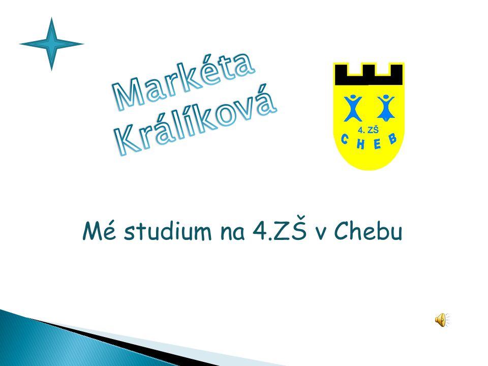 Jmenuji se Markéta Králíková.Bydlím v Chebu. Je mi 15 let.