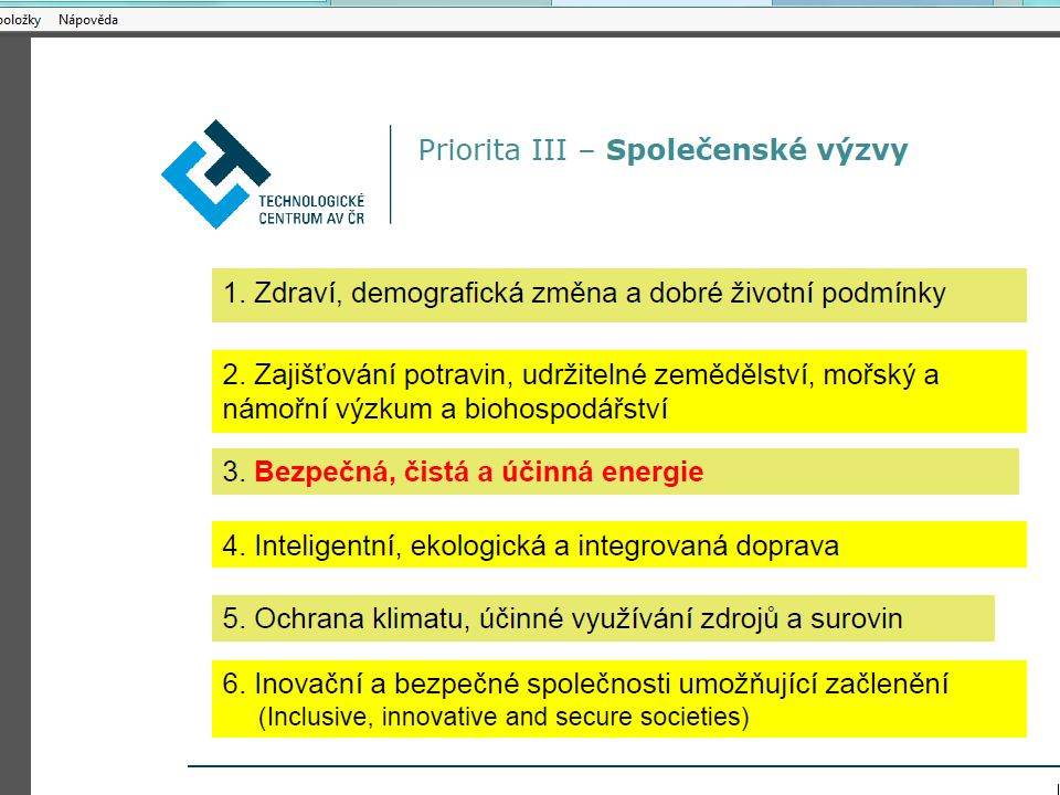 Ad 3) Inovační ekonomika města (City innovation economy classifications) and rankings, 2014 Metoda city benchmarking data (každé město je srovnáváno se všemi ostatními městy) V oblasti 32 segmentů celkově vyhodnocuje 162 indikátorů: Architecture, History & Planning | Arts & Culture | Basics Services, Water & Food Supply | Business | Commerce & Finance | Cultural Exchange: Travel & Tourism | Diplomacy & Trade | Economics (General) |Education, Science & Universities | Environment & Nature | Fashion | Food & Hospitality | Geography | Government & Politics | Health & Medicine | Industry & Manufacturing | Information, Media & Publishing | Labor, Employment & Workforce | Law & Governance | Logistics, Freight & Ports | Military & Defence | Mobility, Autos, Cycling & Transport | Music & Performance | People & Population | Public Safety | Resources, Mining, Oil & Gas | Retail & Shopping | Spirituality, Religion & Charities | Sports & Fitness |Start-ups & Entrepreneurs |Technology & Communications Architecture, History & PlanningArts & CultureBasics Services, Water & Food SupplyBusinessCommerce & FinanceCultural Exchange: Travel & TourismDiplomacy & TradeEconomics (General)Education, Science & UniversitiesEnvironment & NatureFashionFood & Hospitality GeographyGovernment & PoliticsHealth & MedicineIndustry & ManufacturingInformation, Media & PublishingLabor, Employment & WorkforceLaw & GovernanceLogistics, Freight & PortsMilitary & DefenceMobility, Autos, Cycling & TransportMusic & Performance People & PopulationPublic Safety Resources, Mining, Oil & GasRetail & ShoppingSpirituality, Religion & Charities Sports & FitnessStart-ups & EntrepreneursTechnology & Communications