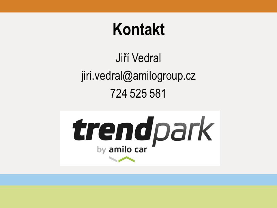 Kontakt Jiří Vedral jiri.vedral@amilogroup.cz 724 525 581