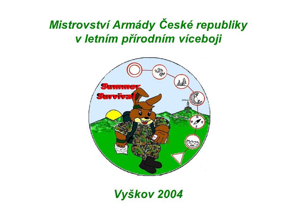 Mistrovství Armády České republiky v letním přírodním víceboji Vyškov 2004